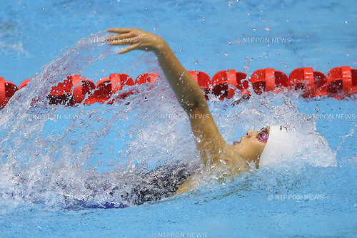 Rena Nishiwaki (Tsuruokaminami), <br /> August 18, 2014 - Swimming :<br /> 2014 All-Japan Inter High School Championships,<br /> Women's 100m Backstroke <br /> at Chiba International General Swimming Center, Chiba, Japan. <br /> (Photo by Yohei Osada/AFLO SPORT)
