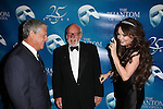 Cameron Mackintosh & Hal Prince & Sarah Brightman attending the 'Phantom of the Opera' - 25 Years on Broadway Gala Performance at the Majestic Theatre in New York City on 1/26/2013
