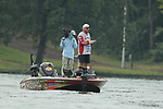 August 10, 2019: Matt Reed on day two of the Forrest Wood Cup on Lake Hamilton in Hot Springs, Arkansas. ©Justin Manning/Eclipse Sportswire/CSM
