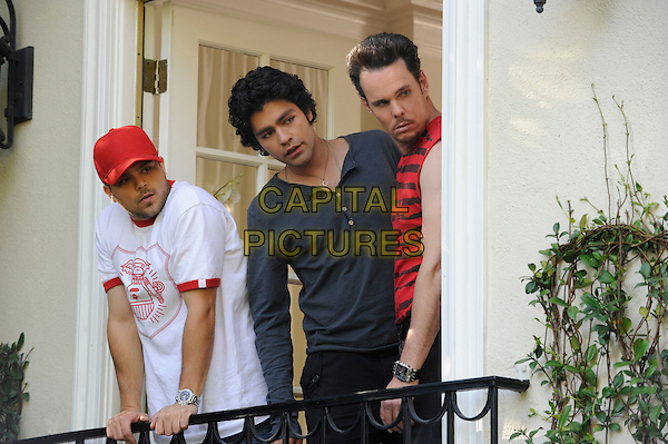 JERRY FERRARA, ADRIAN GRENIER & KEVIN DILLON.in Entourage (Season 6).*Filmstill - Editorial Use Only*.CAP/FB.Supplied by Capital Pictures.