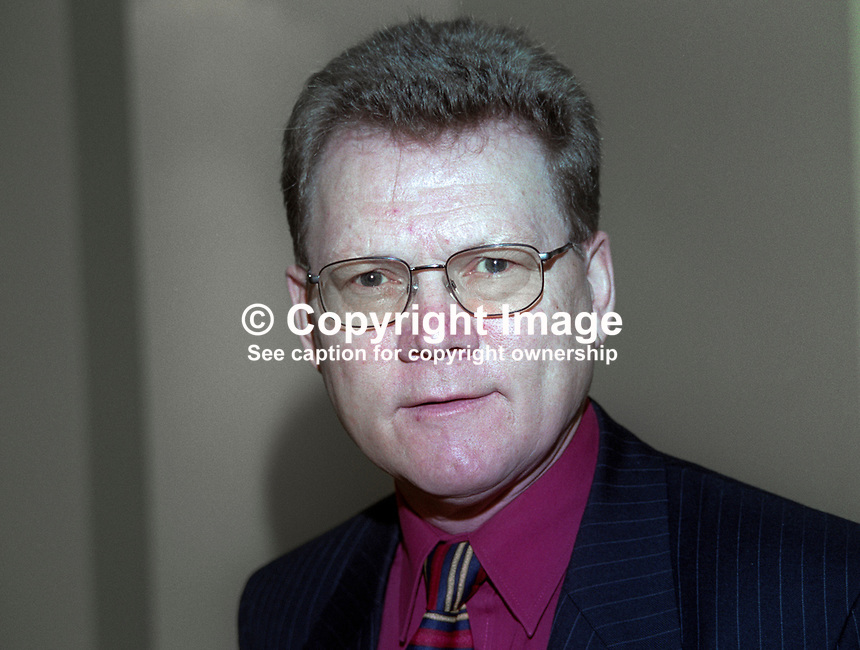 Peter Quigley, chief executive, Action Cancer, N Ireland, 199911036.<br />