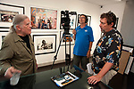 SOTT production with Henry Diltz at Morrison Hotel Gallery at the Sunset Marquis Hotel in Los Angeles, June, 2018