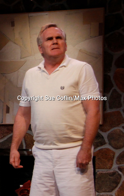 "Malachy Cleary stars in ""Other Desert Cities"" at the tech rehearsal (in costume) on October 14, 2015 at Whippoorwill Halll Theatre, North Castle Library, Kent Place, Armonk, New York.  (Photo by Sue Coflin/Max Photos)"