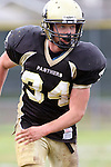 Palos Verdes, CA 11/04/11 - Andrew Jessop (Peninsula #34) in action during the West Torrance vs Peninsula varsity football game.