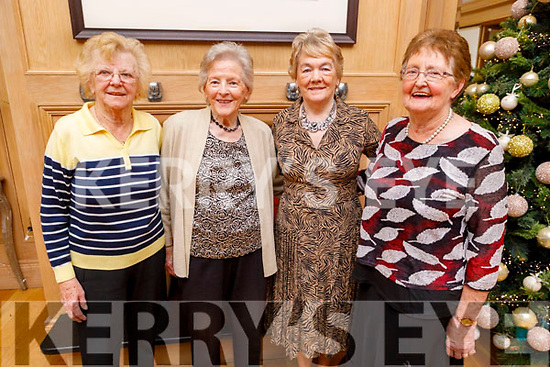 Mary Riardon (Tralee) , Ann O'Doherty, Kathy Brosnan and Bernie Conway from Brendans Park, Tralee enjoying the Club Ide Tea Dance Club afternoon in the Ballygarry House Hotel on Sunday