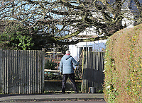 BNPS.co.uk (01202 558833)<br /> Pic: CorinMesser/BNPS.<br /> <br /> Homeowners are counting the cost today after a 'tornado' hit a south coast town overnight.<br /> <br /> Residents in Barton-on-Sea, Hants, were woken at 4am as the twister blasted its way through the town like an 'express train'. <br /> <br /> The strength of the winds of up to 80mph shook numerous houses, sending roof tiles smashing to the ground.<br />  <br /> A 30ft long brick wall collapsed under the strength of the gusts while fence panels were flung through the air.<br /> <br /> Part of a garden shed that had been picked up by the tornado smashed a hole through the windscreen of a car.