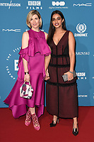 Jodie Whittaker and Mandip Gill<br /> arriving for the British Independent Film Awards 2018 at Old Billingsgate, London<br /> <br /> ©Ash Knotek  D3463  02/12/2018