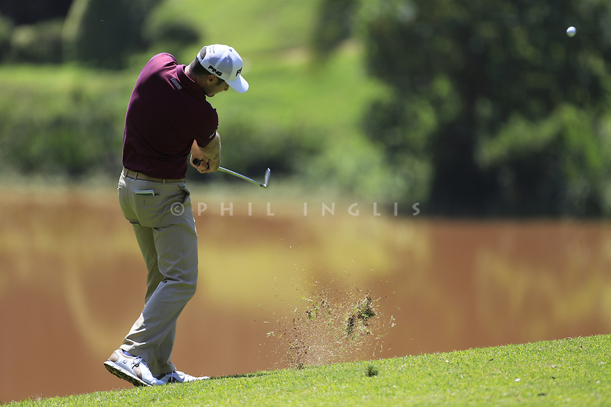 Julien Quesne (FRA) during the third round of the Barclays Kenya Open played at Muthaiga Golf Club, Nairobi, Kenya 22nd - 25th March 2018 (Picture Credit / Phil Inglis) 22/03/2018<br /> <br /> <br /> All photo usage must carry mandatory copyright credit (&copy; Golffile | Phil Inglis)