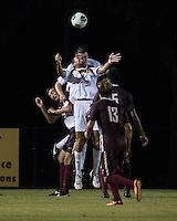 The Winthrop University Eagles played the College of Charleston Cougars at Eagles Field in Rock Hill, SC.  College of Charleston broke the 1-1 tie with a goal in the 88th minute to win 2-1.  Achille Obougou (7), Kyle Kennedy (19), Tam McGowan (2), Tucker Coons (3), Tanner Clay (5)