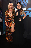 LOS ANGELES, CA - NOVEMBER 20: Bebe Rexha, Kerri Kasem at Westwood One on the carpet at the 2016 American Music Awards at the Microsoft Theater in Los Angeles, California on November 20, 2016. Credit: David Edwards/MediaPunch