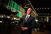 United States Vice President-elect Mike Pence, speaks to members of the media regarding the tragedy in Fort Lauderdale from the front of Trump Tower in New York, New York on Friday, January 6, 2017. <br /> Credit: John Taggart / Pool via CNP