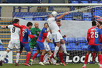 Steve McNulty of Tranmere Rovers goes close during Tranmere Rovers vs Dagenham & Redbridge, Vanarama National League Football at Prenton Park on 11th November 2017