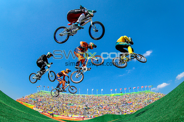 Picture by Alex Whitehead/SWpix.com - 19/08/2016 - 2016 Rio Olympic Games - BMX - Olympic BMX Centre, Rio de Janeiro, Brazil -