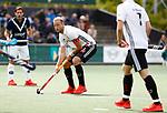 AMSTELVEEN  -  Billy Bakker (Adam)  Hoofdklasse hockey heren ,competitie, heren, Amsterdam-Pinoke (3-2)  . COPYRIGHT KOEN SUYK
