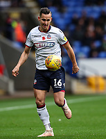 Bolton Wanderers' Pawel Olkowski<br /> <br /> Photographer Andrew Kearns/CameraSport<br /> <br /> The EFL Sky Bet Championship - Bolton Wanderers v Swansea City - Saturday 10th November 2018 - University of Bolton Stadium - Bolton<br /> <br /> World Copyright © 2018 CameraSport. All rights reserved. 43 Linden Ave. Countesthorpe. Leicester. England. LE8 5PG - Tel: +44 (0) 116 277 4147 - admin@camerasport.com - www.camerasport.com