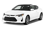 Front three quarter view of a 2014 Scion TC Coupe