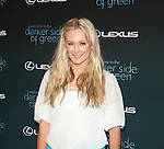 Dabney Mercer attends The Darker Side of Green debate series moderated by Tracey Morgan at the The Bowery Hotel, NY 7/27/10 D. Salters/WENN