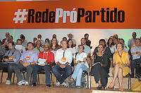 """BRASÍLIA,DF 16 DE FEVEREIRO 2013. LANÇAMENTO DO NOVO PARTIDO DA EX MINISTRA MARINA SILVA - A ex-senadora Marina Silva participa de encontro neste sábado em Brasília (DF) para o lançamento de seu partido, provisoriamente chamado de """"Rede"""". FOTO RONALDO BRANDÃO/BRAZIL PHOTO PRESS"""