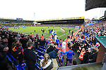 A general view of Selhurst Park as the players come out<br /> <br /> - English Premier League - Crystal Palace vs Liverpool  - Selhurst Park - London - England - 6th March 2016 - Pic David Klein/Sportimage