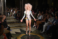 Catwalk<br /> at the Pam Hogg catwalk show as part of London Fashion Week SS17, Freemason's Hall, Covent Garden, London<br /> <br /> <br /> &copy;Ash Knotek  D3155  16/09/2016