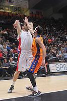 Ribas vs Kalinic<br /> Euroleague - 2014/15<br /> Regular season Round 8<br /> Valencia Basket vs Crvena Zvezda Telecom Belgrade