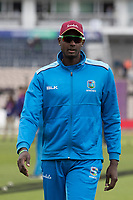 Jason Holder (West Indies) before  England vs West Indies, ICC World Cup Cricket at the Hampshire Bowl on 14th June 2019
