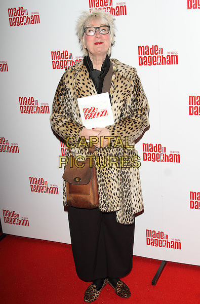 LONDON, ENGLAND - NOVEMBER 05: Jenny Eclair attends the 'Made In Dagenham' press night at the Adelphi Theatre on November 5, 2014 in London, England<br /> CAP/ROS<br /> &copy;Steve Ross/Capital Pictures