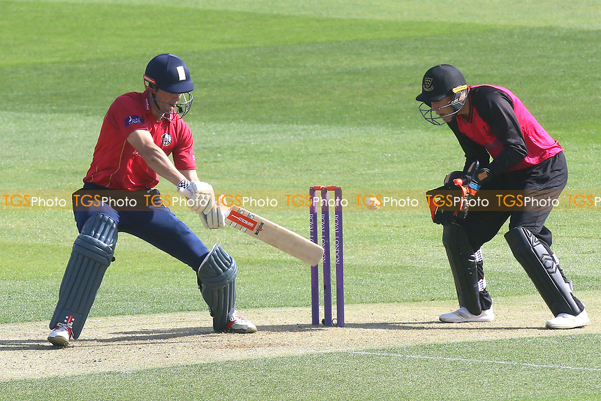 Alastair Cook in batting action for Essex during Essex Eagles vs Sussex Sharks, Royal London One-Day Cup Cricket at The Cloudfm County Ground on 10th May 2017