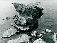 Felsen am Strand von Acapulco, Nordzypern 1992