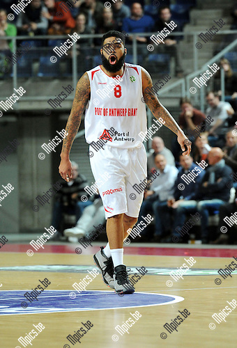 2014-12-02 / Basketbal / seizoen 2014-2015 / Antwer Giants - Le Mans / Ryan Pearson<br />