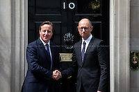 15.07.2015 - The Prime Minister of Ukraine Arseniy Yatsenyuk at 10 Downing Street