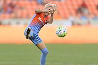 Houston, TX - Saturday July 16, 2016: Denise O'Sullivan during a regular season National Women's Soccer League (NWSL) match between the Houston Dash and the Portland Thorns FC at BBVA Compass Stadium.