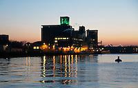 Nederland Rotterdam  2017.  Codrico aan de Rijnhaven. Codrico is een productiebedrijf dat zich specialiseert in hydrothermale bewerking van maïs, graan en andere landbouwproducten. Foto Berlinda van Dam / Hollandse Hoogte