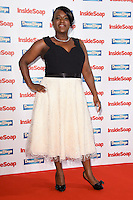 Tameka Empson<br /> at the Inside Soap Awards 2016 held at the Hippodrome Leicester Square, London.<br /> <br /> <br /> ©Ash Knotek  D3157  03/10/2016