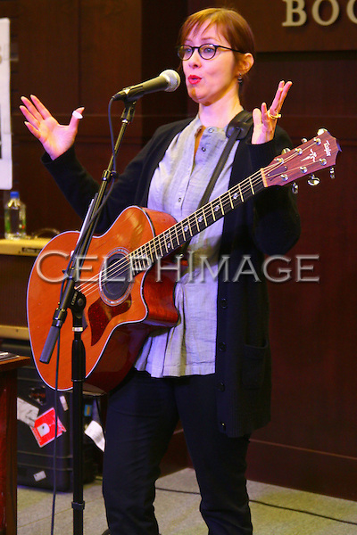 """SUZANNE VEGA. The artist performs and signs copies of her new CD, """"Suzanne Vega Close Up Vol. 1 Love Songs,"""" at Barnes & Noble in Los Angeles, CA, USA. February 15, 2010."""
