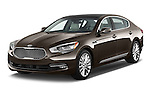 Front three quarter view of a 2015 KIA K900 Base 4 Door Sedan