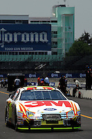 04/18/08 Mexico City .Colin Braun's Ford Fusion motors along pit lane during practice.