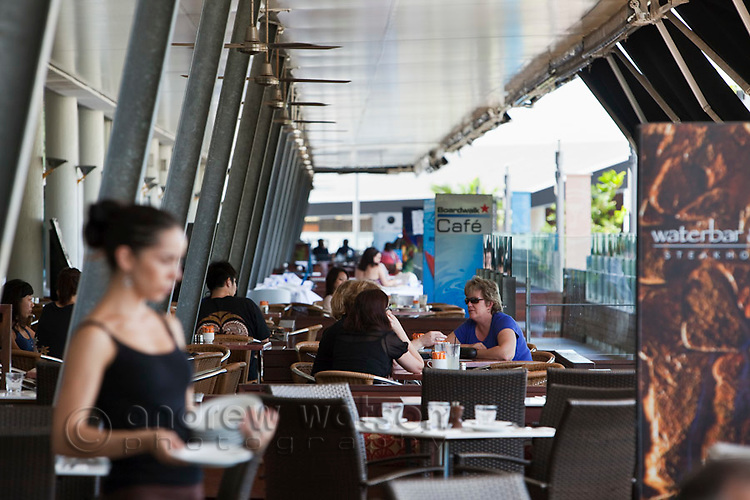 Waterfront restaurants.  The Pier, Cairns, Queensland, Australia
