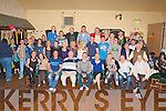 SURPRISE PARTY: Philip Healy, Stacks Villas (seated centre) got a big surprise when a large group of family and friends gathered to celebrated his 30th birthday at the Austin Stacks clubhouse on Friday.