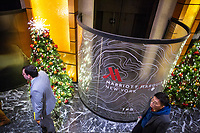 NEW YORK, NY - DECEMBER 1: People visit the Marriott International hotel in Times Square on December 1, 2018 in New York. The largest hotel chain in the world, The Marriott International, has announced that it had suffered a massive data breach that affected round 500 million customers worldwide.(Photo by Eduardo MunozAlvarez/VIEWpress)