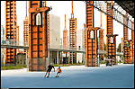 Nell'area delle acciaierie Vitali nasce il nuovo parco della Spina tre.