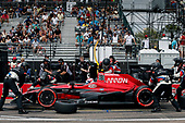 2017 Verizon IndyCar Series - Firestone Grand Prix of St. Petersburg<br /> St. Petersburg, FL USA<br /> Sunday 12 March 2017<br /> Mikhail Aleshin pit stop<br /> World Copyright:Sam Cobb/LAT Images<br /> ref: Digital Image cobb-stpete-170312-4438