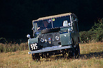 Richard Beddall's1948 Land Rover Series 1 80 inch registered KBP 747 at the Dunsfold Collection Open Day 2003. NO RELEASES AVAILABLE. Automotive trademarks are the property of the trademark holder, authorization may be needed for some uses.
