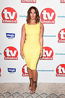 LONDON, UK. September 10, 2018: Rebekah Vardy at the TV Choice Awards 2018 at the Dorchester Hotel, London.<br /> Picture: Steve Vas/Featureflash