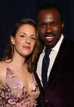 Jessie Mueller and Joshua Henry attends the Opening Night After Party for 'Carousel' at the Cipriano 25 on April 12, 2018 in New York City.
