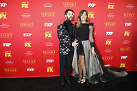 "LOS ANGELES - JAN 8:  Darren Criss, Mia Swier at the ""The Assassination of Gianni Versace: American Crime Story"" Premiere Screening at the ArcLight Theater on January 8, 2018 in Los Angeles, CA"