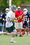 Orange, CA 05/16/15 - Logan Warren (Concordia #33) in action during the 2015 MCLA Division II Championship game between Dayton and Concordia, at Chapman University in Orange, California.