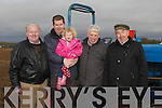 DAY OUT: A day out at the Abbeydorney Ploughing Competition in Abbneydorney on Sunday, L-r: Tim, Paul and Ciara Galvin(Lispole), Seamus O'Connor (Ballyduff) and Jackie Healy (Abbeydorney)............. ....