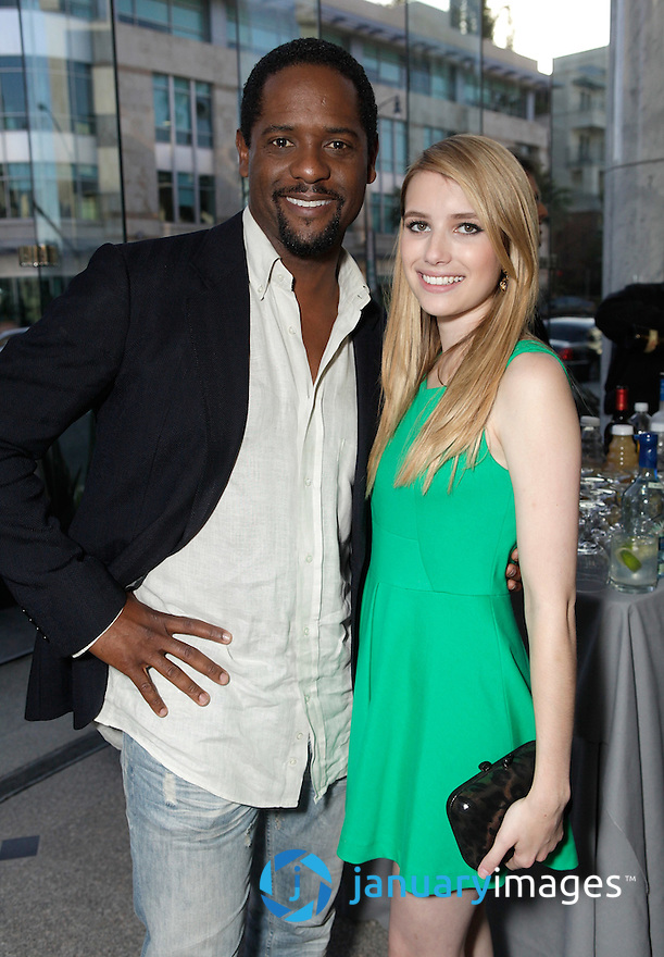 "BEVERLY HILLS, CA - JUNE 06:  Blair Underwood and Emma Roberts attend a Fox Searchlight screening Of ""The Art Of Getting By"" at Clarity Theater on June 6, 2011 in Beverly Hills, California.  (Photo by Todd Williamson/WireImage)"