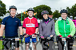 Handle Bars<br /> -----------------<br /> L-R Ted&amp;David Burke, Causeway with Ardfert ladies Debra O' Connor and Margaret Silles all ready for the weather on the Harvest cycle.